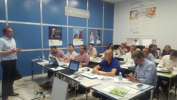 Sesión de formación en Lucena